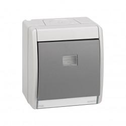 4490201-035 CONMUTADOR GRIS 10AX 250V IP55