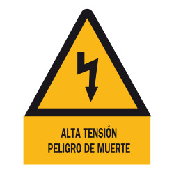 CE-21S SEÑAL ALTA TENSION 210MM CE-21S P720160