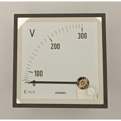VVAQS72-300 VOLTIMETRO VAQS 72 0-300