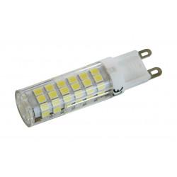 81.587/6/DIA BOMBILLA LED G9 230V AC 6W DIA