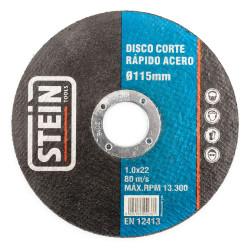 8425160442361 DISCO STEIN CORTE RAPIDO ACERO 115X1.0X22