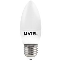 8425160269982 BOMBILLA LED VELA E-27 8W NEUTRA
